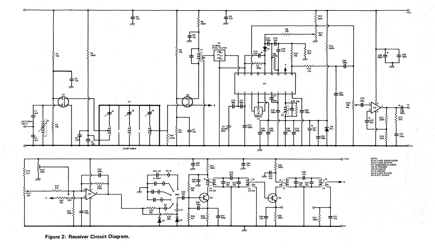 Homebrew 144 Mhz Transceiver Block Diagram Receiver - Wiring Diagram